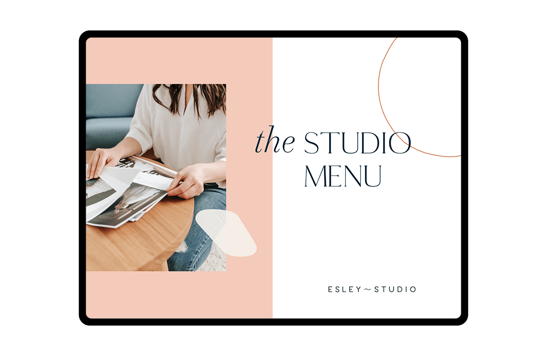 the studio menu